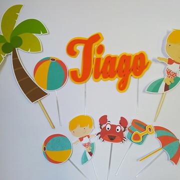 Kit Toppers Praia
