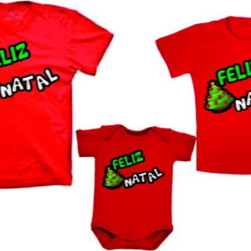 Camisetas Personalizadas para Natal Familia
