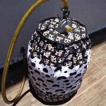 Capa para botijão de gas