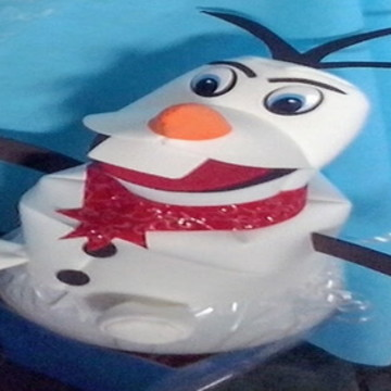 chapeu boneco de neve