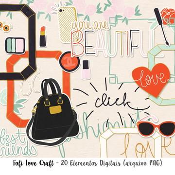 Elementos Digitais Fashion - Cód 257