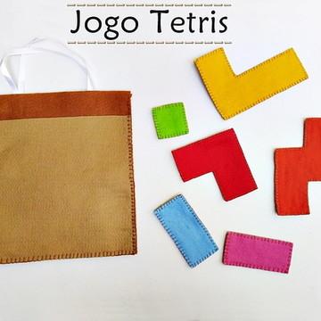 JOGO TETRIS - jogos educativos - jogos em feltro
