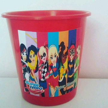 Balde de Pipoca Super Hero Girls