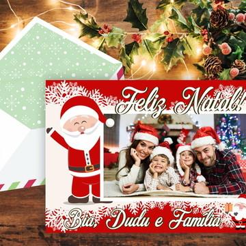 Cartão de Natal para impressão