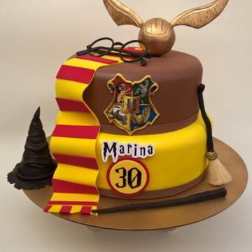 Bolo fake Harry Potter personalizado