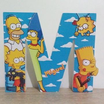 Os Simpsons letras decoradas