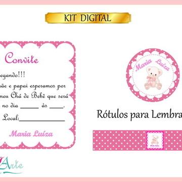Kit Digital Chá de Bebê