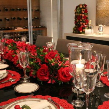 Arranjo para casa centro de mesa de natal festas