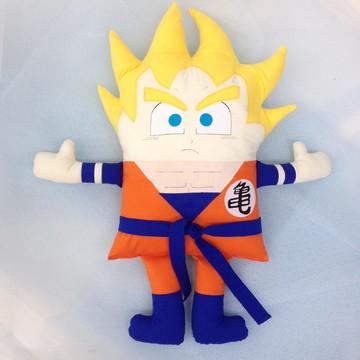Almofada Goku Super Sayajin