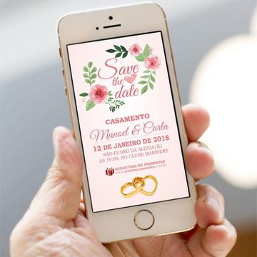 Convite Digital Save The Date