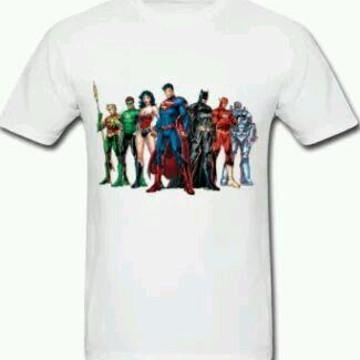 Camiseta HQ Liga da Justiça - 01