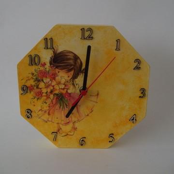 Relógio de Parede em Mdf