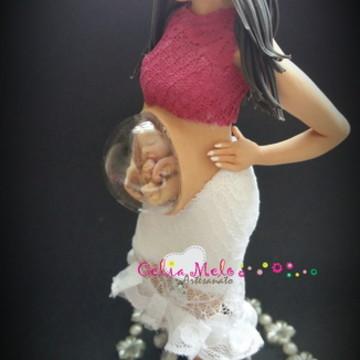 Gravida com bebê no utero