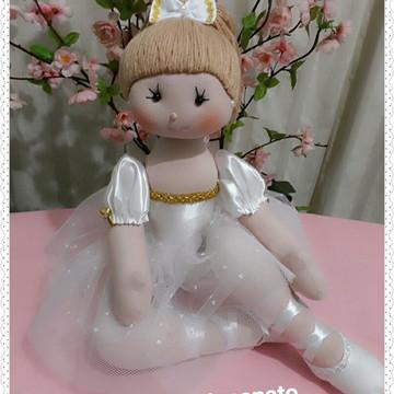 Boneca de pano Bailarina Amanda