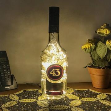 Luminária de garrafa Licor 43