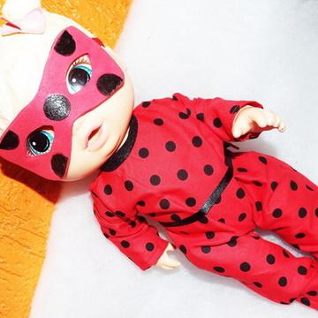 Roupinha para Baby Alive da Ladybug