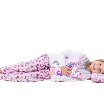 Pijama Unicórnio adulto + Almofada
