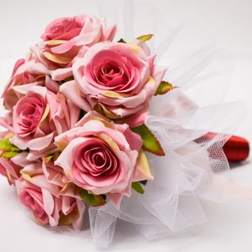 BUQUÊ DAMINHA/MADRINHA LOVELY ROSES