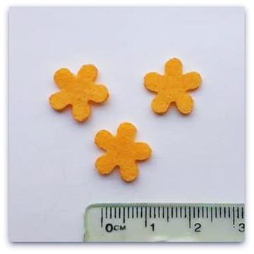 FLOR amarela 1.3 cm RECORTE A LASER