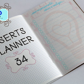 Para Planner da Artesã (registro de ideias)- Insert -Digital