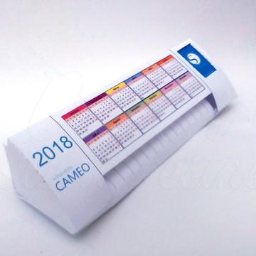 arquivo silhouette Calendario de mesa Silhouette Cameo 3D