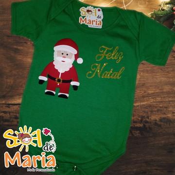 Body Personalizado de Natal