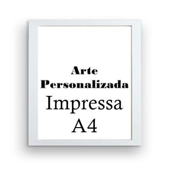 Arte personalizada Impressa A4