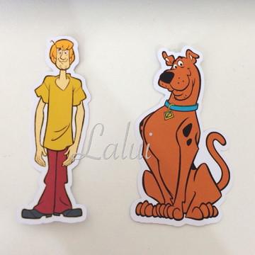 Aplique Tubete Scooby Doo
