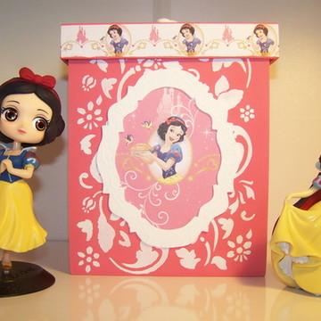 Caixa decorativa em MDF - Princesa Branca de Neve