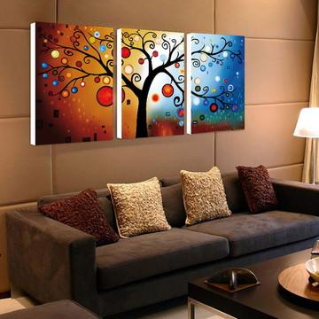 pinturas em telas de arvores