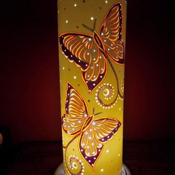 Luminária PVC Borboletas - Presentes