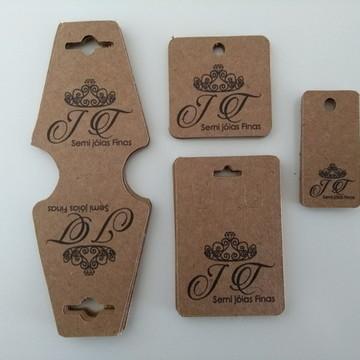 Kit Tag para produtos personalizada 400 unidades