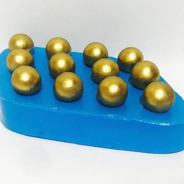 Pérolas 12 Cavidades - molde de silicone