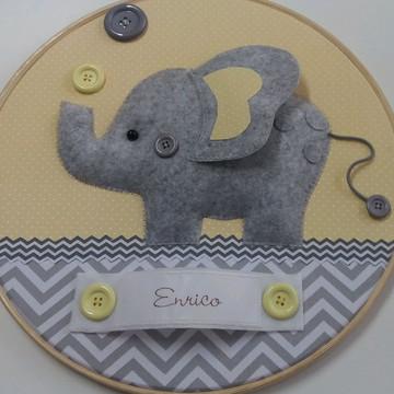 Enfeite de porta maternidade elefantinho