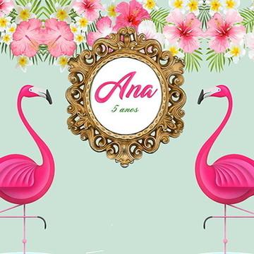 Painel Flamingo 2x1M
