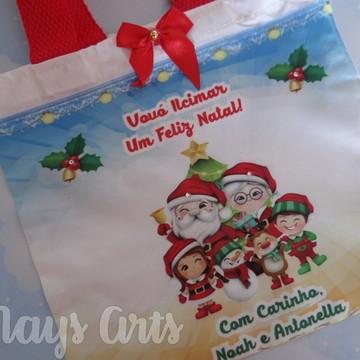 Bolsinha Personalizada Lembrancinha Natal