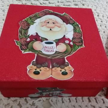 Caixa para embalagem Presente de Natal