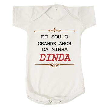 Body Bebê Sou o Grande Amor da Minha Dinda Madrinha Neném
