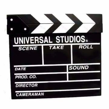 Claquete Cinema Universal Studios