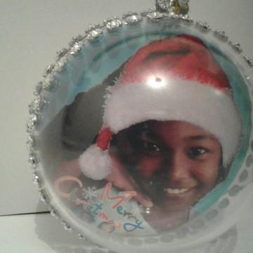 Bola de Natal personalizada com (6uni)