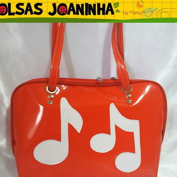 Bolsa Notas Musicais, Bolsa Música, Notas Musicais