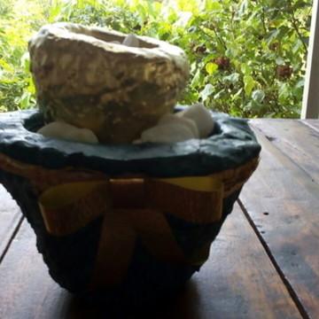 Vasos De Artesanato Sustentável