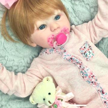 Boneca Bebê Reborn Monik