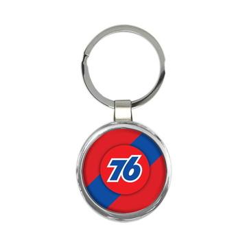 Chaveiro Posto 76 Gasoline Metal #2053