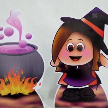 Cenário de Mesa Festa Halloween