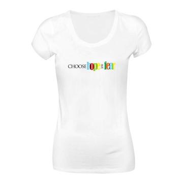 cfb00459bf Camiseta Feminina Fear  1576