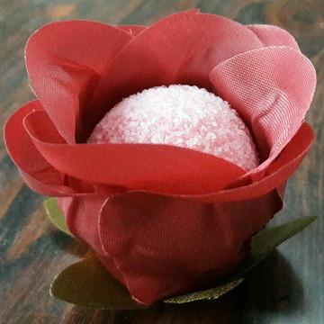 Forminha Botão de Rosa - Rosa Seco