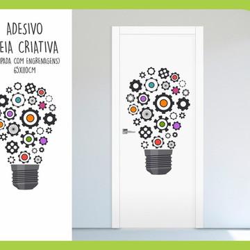 Adesivo p/ Porta - Ideia Criativa