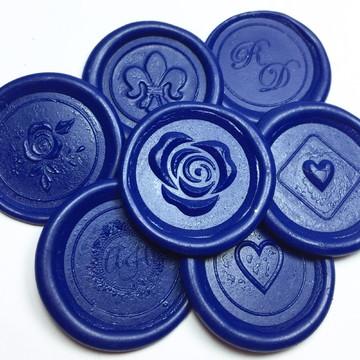 Lacre de cera / Azul Royal