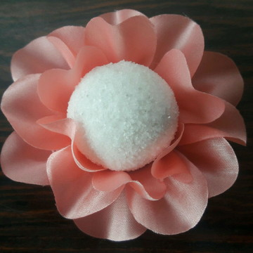Forminha Lírio de Tecido - rosa chiclete